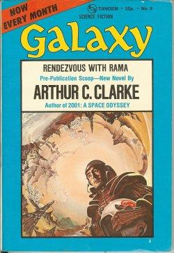 "GALAXY Science Fiction: September, Sept. 1973 (""Rendezvous: Galaxy (Arthur C."
