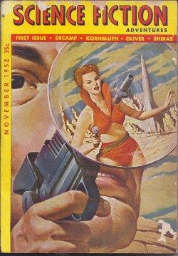 SCIENCE FICTION ADVENTURES: November, Nov. 1952: Science Fiction Adventures