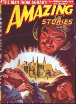 AMAZING Stories: July 1948: Amazing (John & Dorothy De Courcy; A. K. Jarvis; William P. McGivern; ...