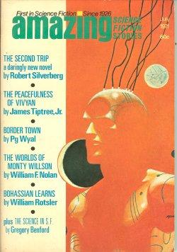 AMAZING Stories: July 1971: Amazing (Robert Silverberg;
