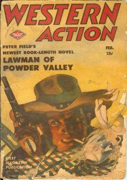 "WESTERN ACTION: February, Feb. 1944 (""Lawman of Powder Valley"" vt ""Sheriff's ..."