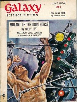 GALAXY Science Fiction: June 1956: Galaxy (F. L.