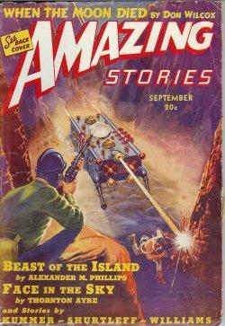 AMAZING Stories: September, Sept. 1939: Amazing (Alexander M.