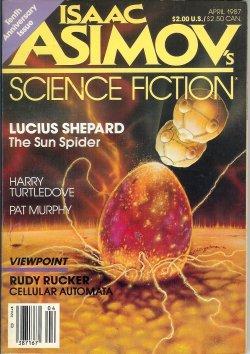 Isaac ASIMOV'S Science Fiction: April, Apr. 1987: Asimov's (Harry Turtledove;
