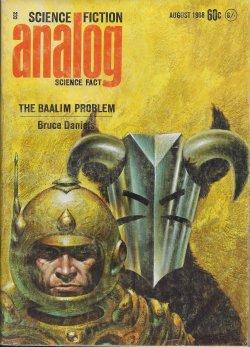 ANALOG Science Fiction/ Science Fact: August, Aug.: Analog (Bruce Daniels;