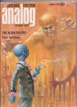 ANALOG Science Fiction/ Science Fact: March, Mar.: Analog (Piers Anthony;