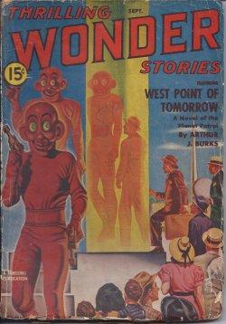 THRILLING WONDER Stories: September, Sept. 1940: Thrilling Wonder (Arthur J. Burks; Frederic Arnold...