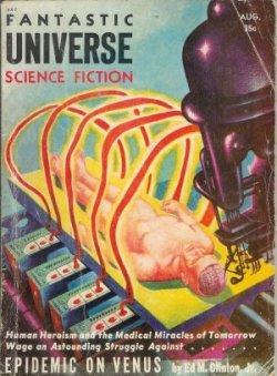 FANTASTIC UNIVERSE: August, Aug. 1955: Fantastic Universe (Ed