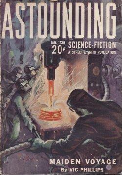 ASTOUNDING Science Fiction: January, Jan. 1939: Astounding (Warner van Lorne - aka F. Orlin ...