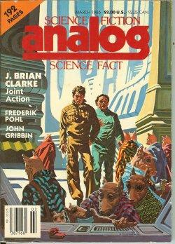 ANALOG Science Fiction/ Science Fact: March, Mar.: Analog (Frederik Pohl;