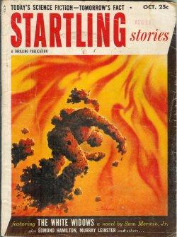 "STARTLING Stories: October, Oct. 1953 (""The White: Startling (Sam Merwin,"