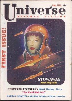 UNIVERSE Science Fiction: June 1953: Universe (Robert Bloch; Theodore Sturgeon; Murray Leinster; ...