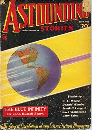 ASTOUNDING Stories: September, Sept. 1935: Astounding (Jack Williamson; John Russell Fearn; Donald ...