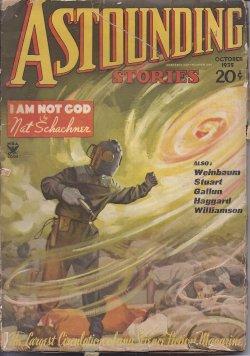 ASTOUNDING Stories: October, Oct. 1935: Astounding (Nat Schachner; Don A. Stuart - aka John W. ...