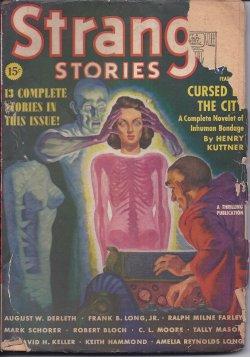 STRANGE Stories: April, Apr. 1939: Strange (Robert Bloch;