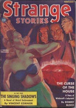 STRANGE Stories: February, Feb. 1939: Strange (Vincent Cornier;