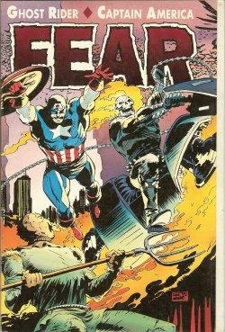 GHOST RIDER/ CAPTAIN AMERICA: FEAR