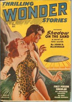 THRILLING WONDER Stories: October, Oct. 1950: Thrilling Wonder (John