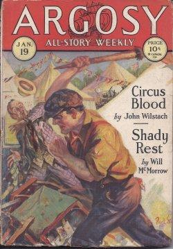 ARGOSY ALL-STORY Weekly: January, Jan. 19, 1929: Argosy (Will McMorrow;