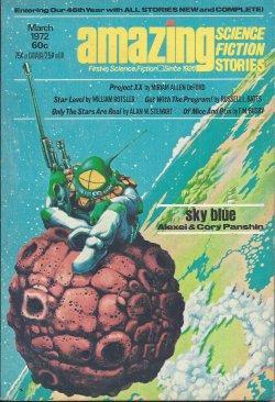 AMAZING Stories: March, Mar. 1972: Amazing (Miriam Allen