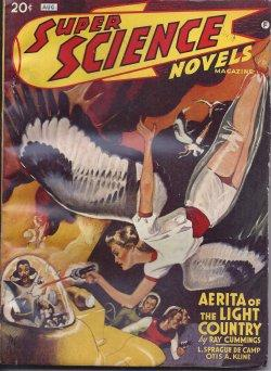 SUPER SCIENCE Novels: August, Aug. 1941: Super Science (Ray Cummings; L. Sprague de Camp; Otis ...