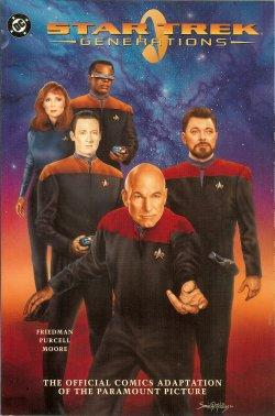 STAR TREK GENERATIONS; The Official Comics Adaptation of the Paramount Picture