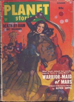 PLANET Stories: Summer 1950: Planet (Alfred Coppel; Clyde Beck; Emmett McDowell; Margaret St. Clair...