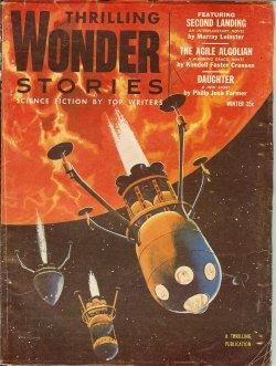 THRILLING WONDER STORIES: Winter 1954: Thrilling Wonder (Murray