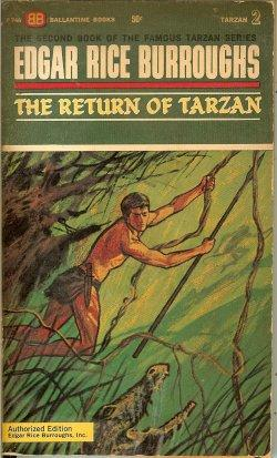 THE RETURN OF TARZAN (Tarzan #2)