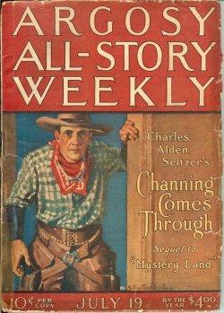 "ARGOSY ALL-STORY Weekly: July 19, 1924 (""The: Argosy (Charles Alden"