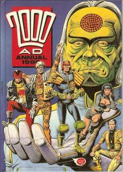 2000 AD ANNUAL 1990 (Judge Dredd)