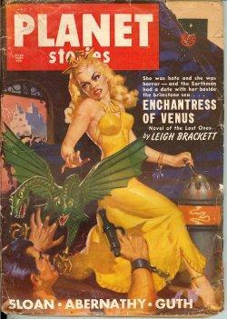 PLANET Stories: Fall 1949: Planet (Leigh Brackett; Richardson Osborne; Robert Abernathy; Ralph ...