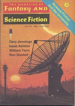 The Magazine of FANTASY AND SCIENCE FICTION: F&SF (Gary Jennings;