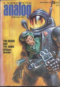 ANALOG Science Fiction/ Science Fact: September, Sept.: Analog (William Rotsler;