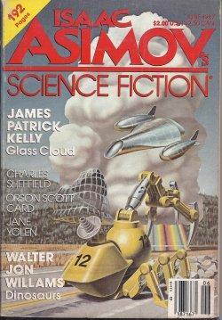Isaac ASIMOV'S Science Fiction: June 1987: Asimov's (James Patrick