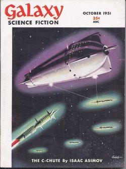 "GALAXY Science Fiction: October, Oct. 1951 (""The Puppet Masters""): Galaxy (Isaac Asimov; ..."