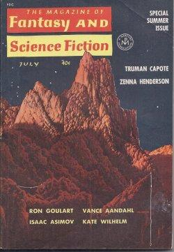 The Magazine of FANTASY AND SCIENCE FICTION: F&SF (Vance Aandahl;