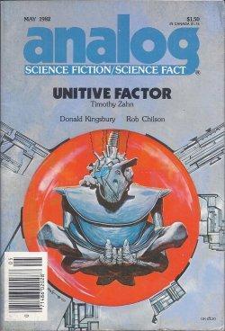ANALOG Science Fiction/ Science Fact: May 1982: Analog (Timothy Zahn;