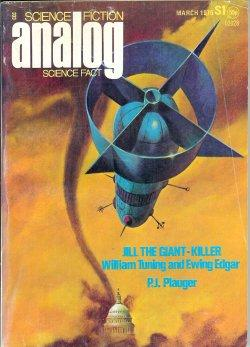 ANALOG Science Fiction/ Science Fact: March, Mar.: Analog (William Tuning