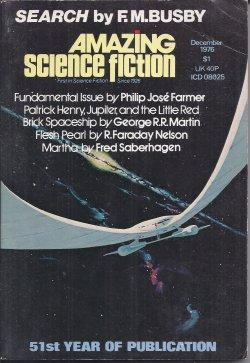 AMAZING Science Fiction: December, Dec. 1976: Amazing (Philip Jose