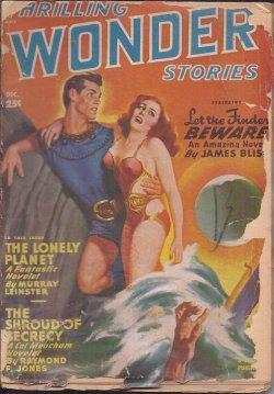 THRILLING WONDER Stories: December, Dec. 1949: Thrilling Wonder (James