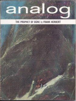 "ANALOG Science Fact/ Science Fiction: January, Jan. 1965 (""Dune"" series): Analog (Frank ..."
