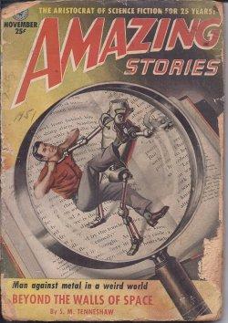 AMAZING Stories: November, Nov. 1951: Amazing (S. M.