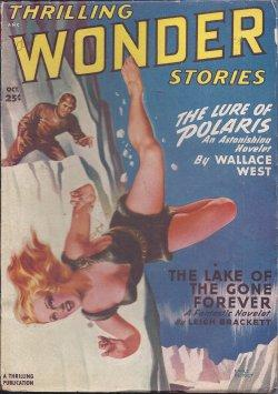 THRILLING WONDER Stories: October, Oct. 1949: Thrilling Wonder (Wallace West; L. Sprague de Camp; ...