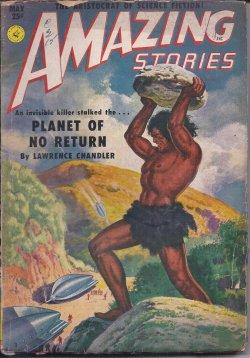AMAZING Stories: May 1951: Amazing (Lawrence Chandler
