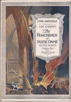 "CARL LAEMMLE PRESENTS LON CHANEY IN ""THE HUNCHBACK OR NOTRE DAME"", Victor Hugo's ..."