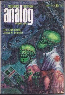 ANALOG Science Fiction/ Science Fact: August, Aug.: Analog (James H.