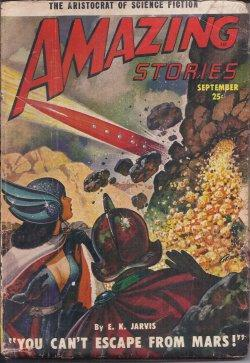 AMAZING Stories: September, Sept. 1950: Amazing (E. K.
