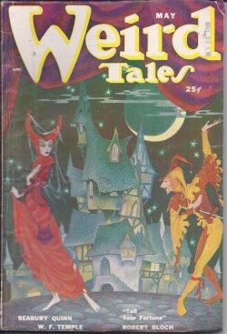 WEIRD TALES: May 1950: Weird Tales (Robert Bloch; Harold Lawlor; Stanton A. Coblentz; Seabury Quinn...