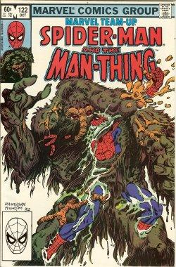 Marvel Team-up; SPIDER-MAN AND THE MAN-THING: Oct #122